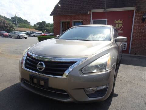 2013 Nissan Altima for sale at AP Automotive in Cary NC