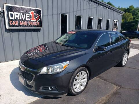 2015 Chevrolet Malibu for sale at Drive 1 Car & Truck in Springfield OH