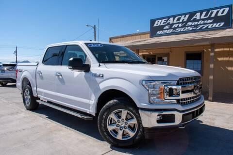 2018 Ford F-150 for sale at Beach Auto and RV Sales in Lake Havasu City AZ