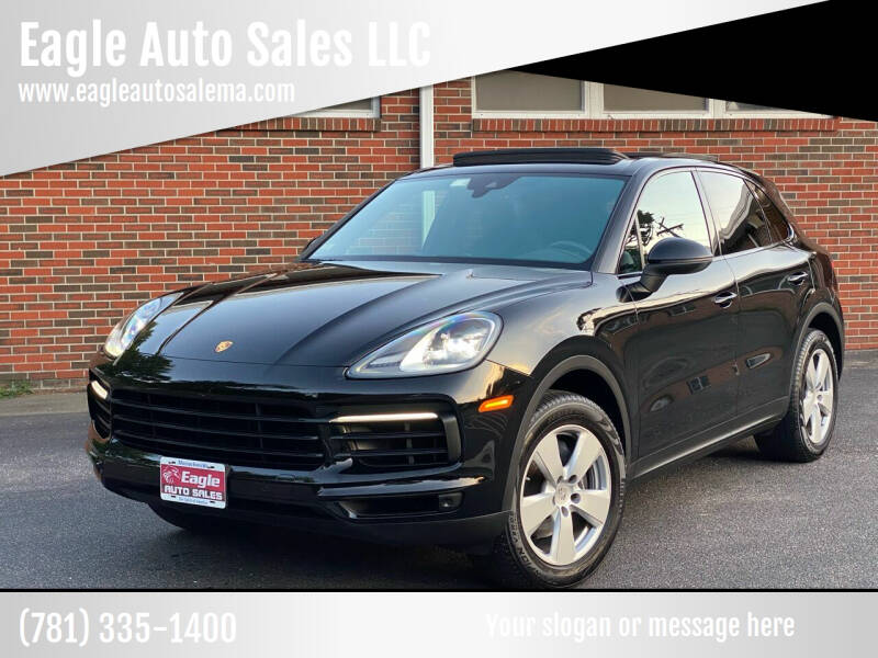 2019 Porsche Cayenne for sale at Eagle Auto Sales LLC in Holbrook MA