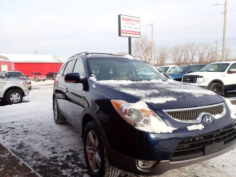 2010 Hyundai Veracruz for sale at Marty's Auto Sales in Savage MN