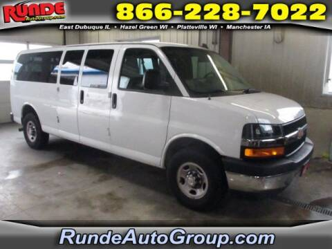 2018 Chevrolet Express Passenger for sale at Runde Chevrolet in East Dubuque IL