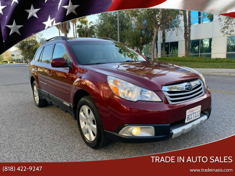 2011 Subaru Outback for sale at Trade In Auto Sales in Van Nuys CA