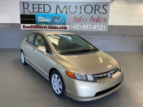 2008 Honda Civic for sale at REED MOTORS LLC in Phoenix AZ