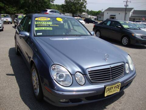 2006 Mercedes-Benz E-Class for sale at Easy Ride Auto Sales Inc in Chester VA