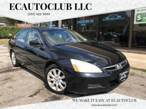 2007 Honda Accord for sale at ECAUTOCLUB LLC in Kent OH