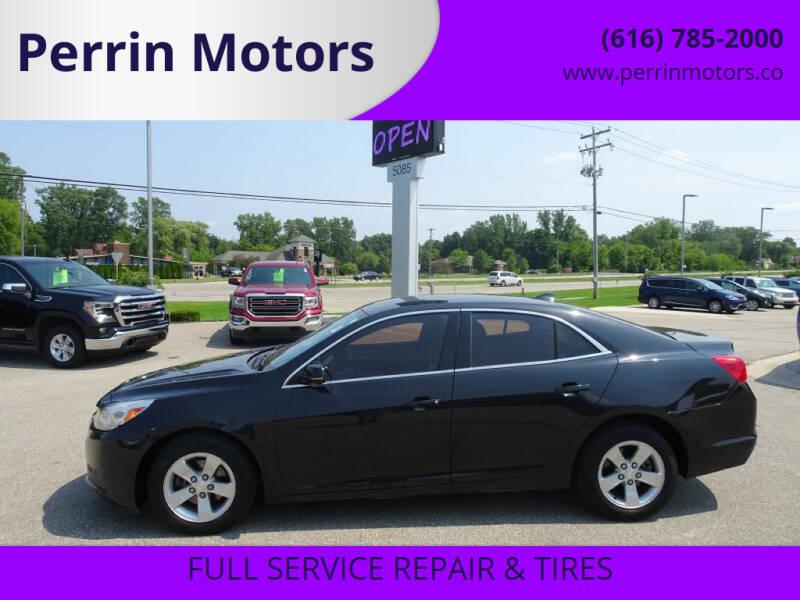 2014 Chevrolet Malibu for sale at Perrin Motors in Comstock Park MI
