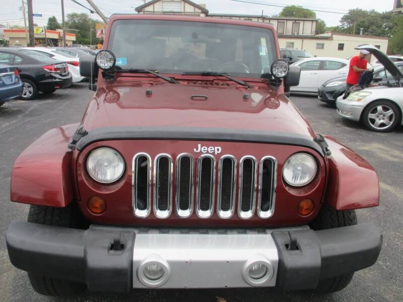 2008 Jeep Wrangler Unlimited for sale at Gold Star Auto Sales in Johnston RI