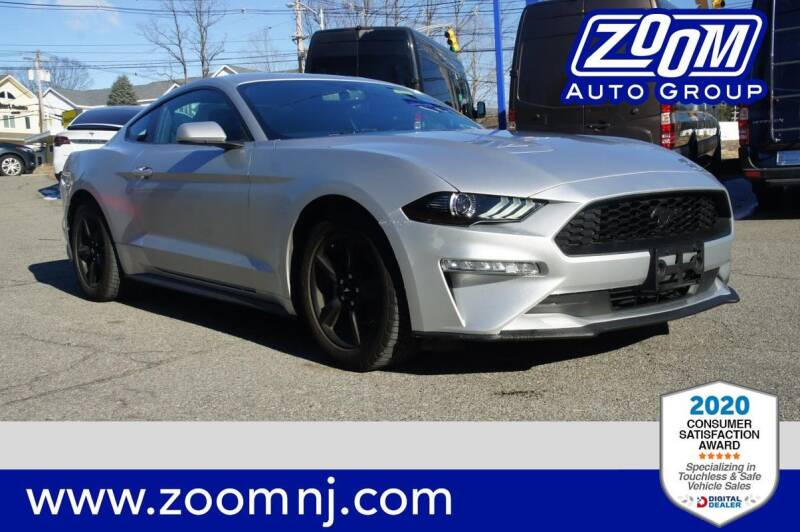 2018 Ford Mustang for sale at Zoom Auto Group in Parsippany NJ