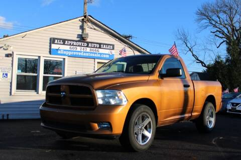 2012 RAM Ram Pickup 1500 for sale at Deals N Wheels 306 in Burlington NJ