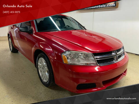 2013 Dodge Avenger for sale at Orlando Auto Sale in Orlando FL