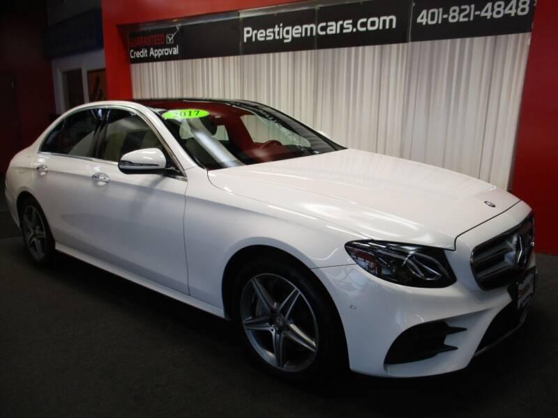 2017 Mercedes-Benz E-Class for sale at Prestige Motorcars in Warwick RI