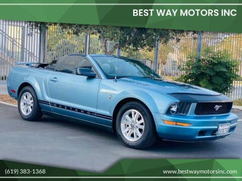 2006 Ford Mustang for sale at BEST WAY MOTORS INC in San Diego CA