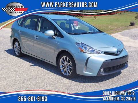 2017 Toyota Prius v for sale at Parker's Used Cars in Blenheim SC