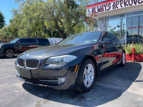 2013 BMW 5 Series for sale at Always Approved Autos in Tampa FL