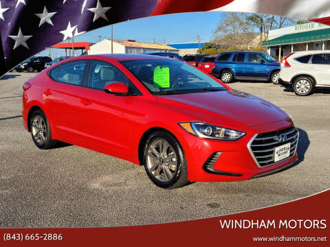 2018 Hyundai Elantra for sale at Windham Motors in Florence SC