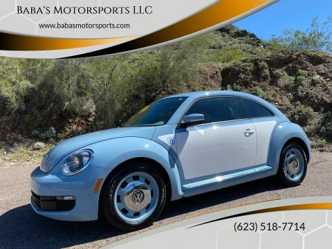 2014 Volkswagen Beetle for sale at Baba's Motorsports, LLC in Phoenix AZ