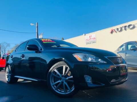 2008 Lexus IS 350 for sale at Alpha AutoSports in Roseville CA
