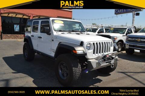 2018 Jeep Wrangler Unlimited for sale at Palms Auto Sales in Citrus Heights CA