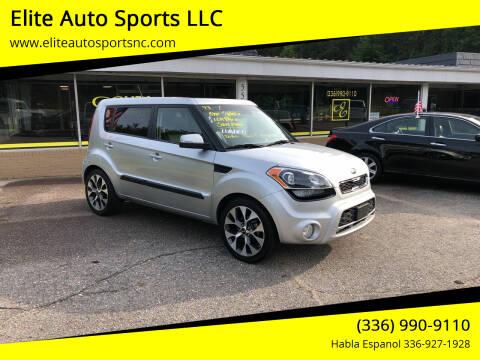 2013 Kia Soul for sale at Elite Auto Sports LLC in Wilkesboro NC