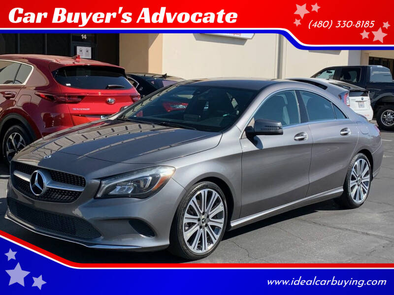 2018 Mercedes-Benz CLA for sale at Car Buyer's Advocate in Phoenix AZ