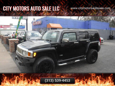 2007 HUMMER H3 for sale at City Motors Auto Sale LLC in Redford MI
