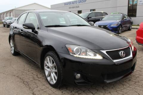 2013 Lexus IS 250 for sale at SHAFER AUTO GROUP in Columbus OH