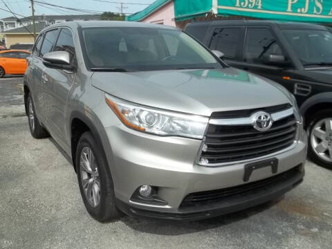 2015 Toyota Highlander for sale at PJ's Auto World Inc in Clearwater FL
