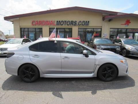 2020 Subaru WRX for sale at Cardinal Motors in Fairfield OH