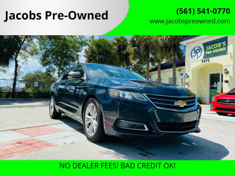 2014 Chevrolet Impala for sale at Jacobs Pre-Owned in Lake Worth FL