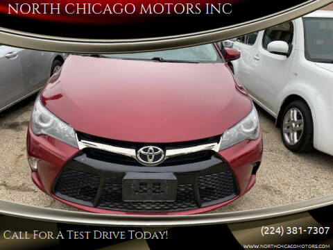 2017 Toyota Camry for sale at NORTH CHICAGO MOTORS INC in North Chicago IL