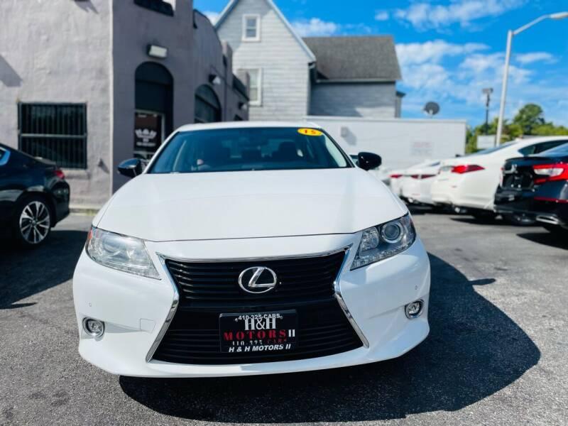 2015 Lexus ES 350 for sale at H & H Motors 2 LLC in Baltimore MD