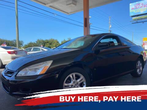 2006 Honda Accord for sale at LATINOS MOTOR OF ORLANDO in Orlando FL
