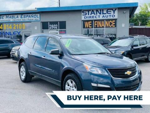 2013 Chevrolet Traverse for sale at Stanley Automotive Finance Enterprise - STANLEY DIRECT AUTO in Mesquite TX