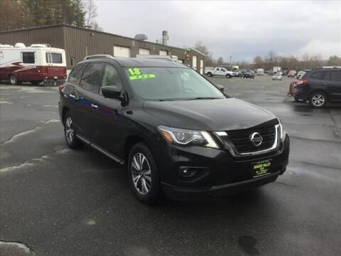 2018 Nissan Pathfinder for sale at SHAKER VALLEY AUTO SALES in Enfield NH