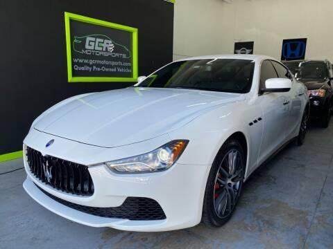 2015 Maserati Ghibli for sale at GCR MOTORSPORTS in Hollywood FL
