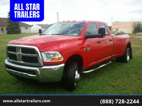 2011 RAM Ram Pickup 3500 for sale at ALL STAR TRAILERS in Norfolk NE