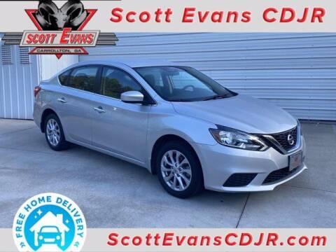 2018 Nissan Sentra for sale at SCOTT EVANS CHRYSLER DODGE in Carrollton GA