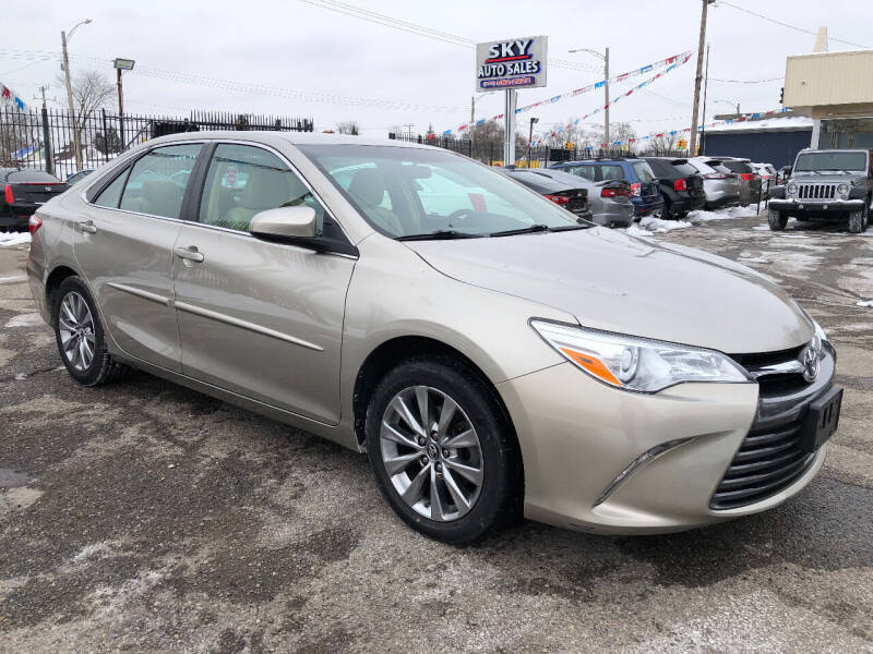 2017 Toyota Camry for sale at SKY AUTO SALES in Detroit MI