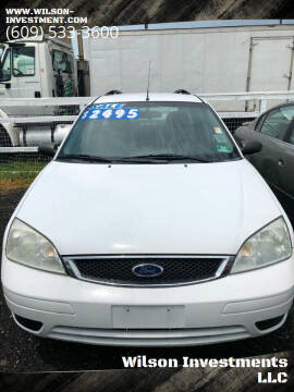 2007 Ford Focus for sale at Wilson Investments LLC in Ewing NJ