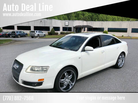 2005 Audi A6 for sale at Auto Deal Line in Alpharetta GA