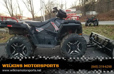 2015 Polaris Sportsman 570 SP EPS Plow for sale at WILKINS MOTORSPORTS in Brewster NY