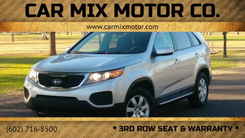 2013 Kia Sorento for sale at CAR MIX MOTOR CO. in Phoenix AZ