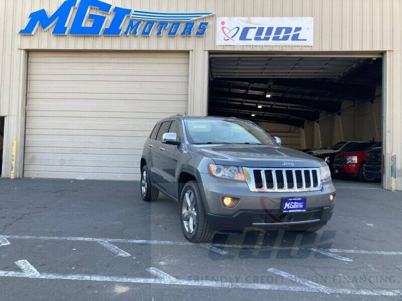 2012 Jeep Grand Cherokee for sale at MGI Motors in Sacramento CA