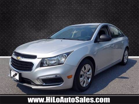 2016 Chevrolet Cruze Limited for sale at Hi-Lo Auto Sales in Frederick MD