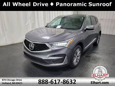 2019 Acura RDX for sale at Elhart Automotive Campus in Holland MI