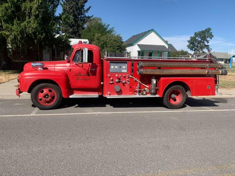 1956 International fire truck for sale at Retro Classic Auto Sales - Classic Cars in Spangle WA