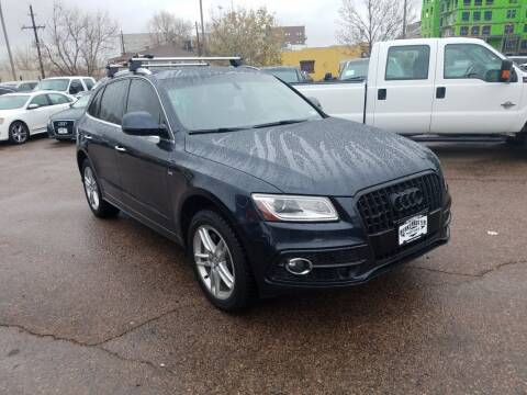 2015 Audi Q5 for sale at BERKENKOTTER MOTORS in Brighton CO