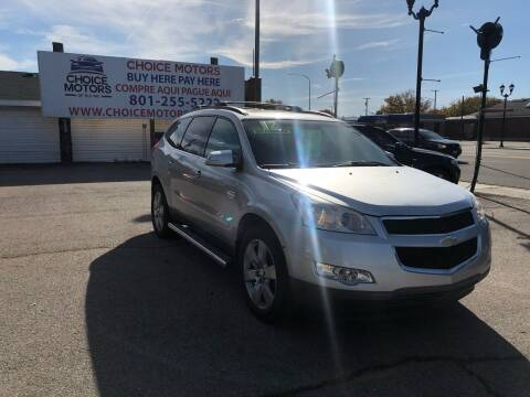 2012 Chevrolet Traverse for sale at Choice Motors of Salt Lake City in West Valley  City UT