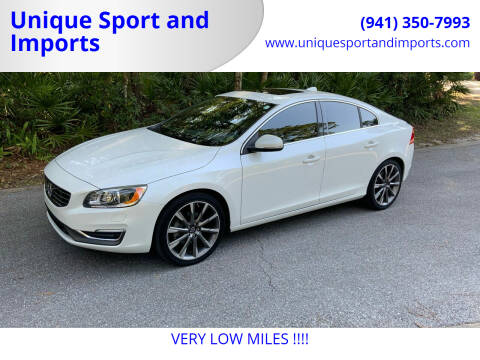 2015 Volvo S60 for sale at Unique Sport and Imports in Sarasota FL